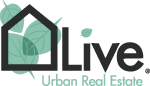 live urban real estate logo